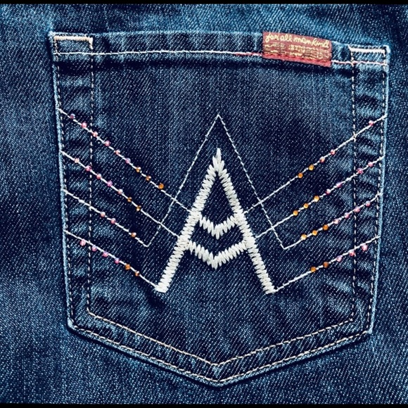 7 For All Mankind Denim - 💙 7 For All Mankind A Pocket Size 30 Crystals